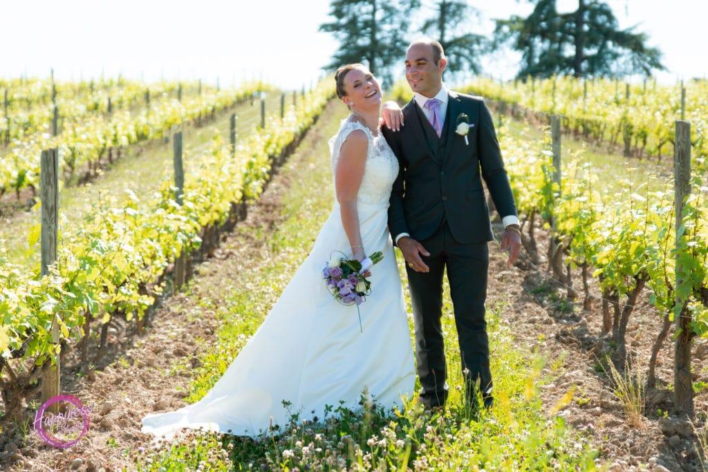 photo de mariage exterieur