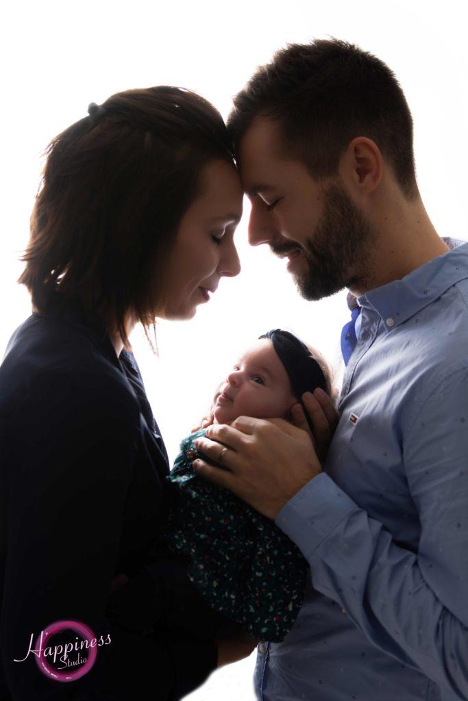 Séance photo en famille avec bébé