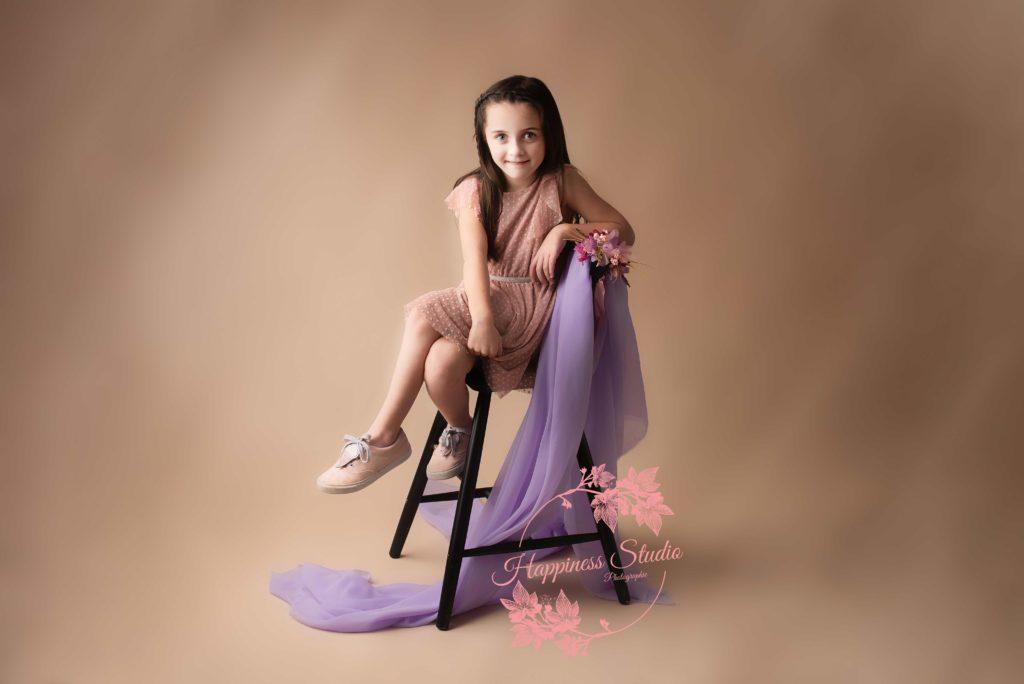 Séance photo enfant en studio