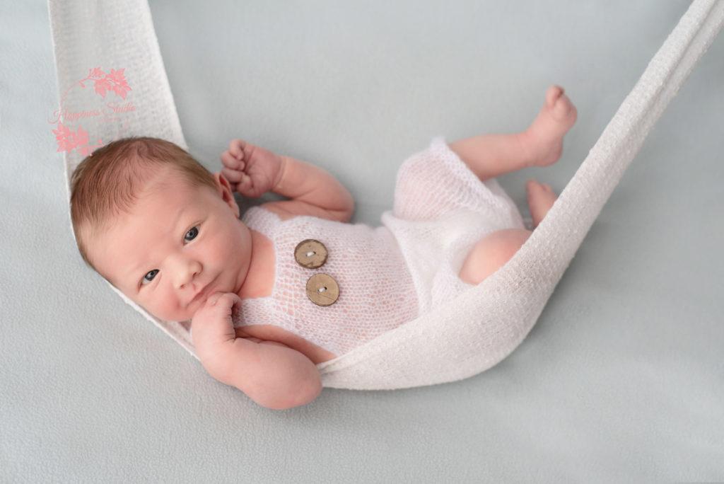 Séance photo bébé au studio